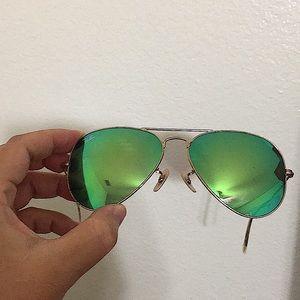 🖤Ray Ban Aviator mirror sunglasses